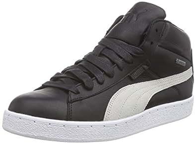 Puma 358431, Sneaker Alte Unisex Adulto, Nero (Nero (Black-Vaporous Gray-Vibrant Orange-White-Aged Silver 01)), 44.5 EU