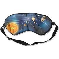 Comfortable Sleep Eyes Masks Planet Printed Sleeping Mask For Travelling, Night Noon Nap, Mediation Or Yoga preisvergleich bei billige-tabletten.eu