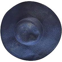 zarupeng Mujer Sombrero de Paja Grande Sombrero de Paja ◇◇◇◇para Exteriores  Sombrero e0ee8a3eb6d