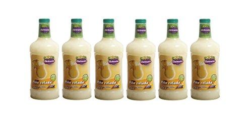 LA CELEBRACION - Coktail sans Alcool prêt à boire - PINA COLADA - Vendu par carton de 6 Bouteilles de 1,75 Litres.