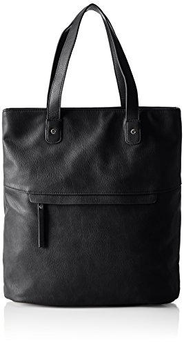 PIECES Damen Pcmallie Shopper Henkeltasche, Schwarz (Black), 15 x 38 x 36 cm