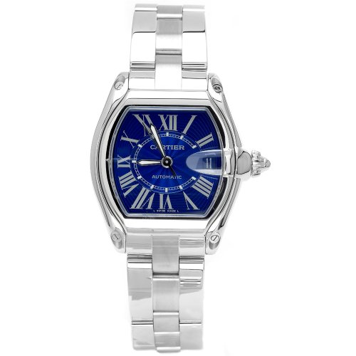 Cartier hombre w62048V3Roadster edición limitada reloj automático