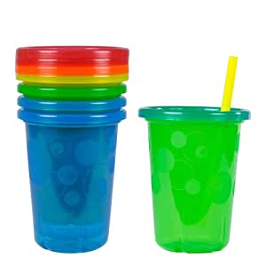 The First Years Take and Toss Straw Cups, 10 Ounce (4 Count)
