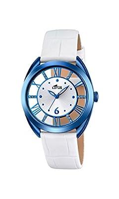 Lotus-Reloj de pulsera analógico para mujer cuarzo piel 18253/1