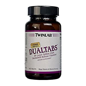 Twinlab Dualtabs, 100 Tabletten