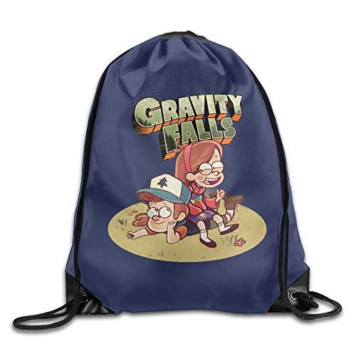 HLKPE Hotgirl Gravity Fall Dipper Backpack Gymsack Sack Pack White