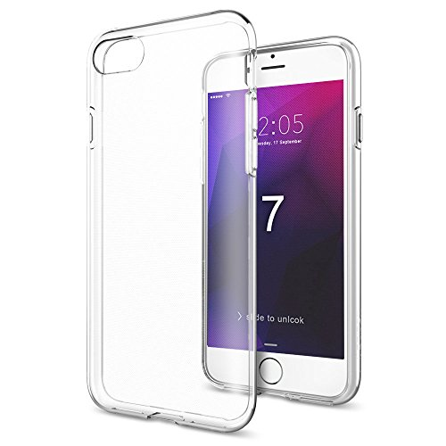 iPhone 7 Plus Hülle, Pasonomi [Ultra Dünne] TPU Silikon Tasche Schutzhülle für iPhone 7 Plus (Rosa) Klar