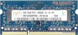 HYNIX HMT125S6TFR8C-H9 204-Pin 2 GB Laptop Memory 1333MHZ