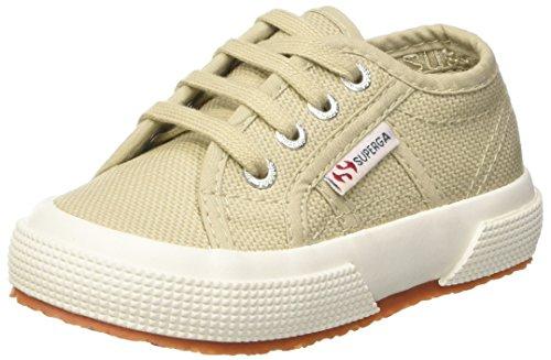 Taupe Classic Schuhe (Superga Unisex-Baby 0-24 2750-Jcot Classic Krabbel- & Hausschuhe, Grigio (Taupe), 23 EU)