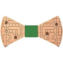 Pajarita de madera Comecocos. Colección de moda hombre  Línea boda y  eventos. Modelo 7d0288416ee