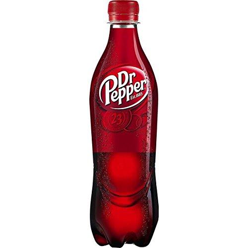 24 Flaschen Dr Pepper Cola Limonade a 500ml Orginal inc. Pfand