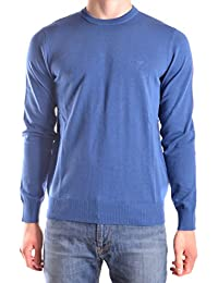Armani Jeans Homme 8N6MC86M11Z1535 Bleu Coton Maille