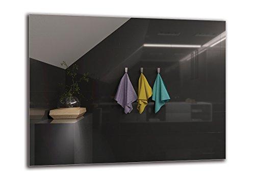 Specchi Senza Cornice Prezzi.Acquista Specchio Per Il Bagno 90x70 Al Miglior Prezzo