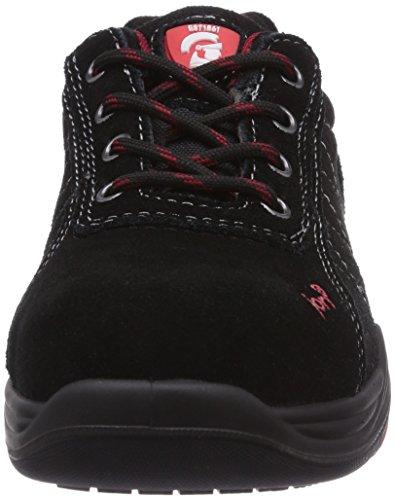 JORI Jo_base Low S1p, Chaussures de sécurité mixte adulte Noir - Noir