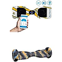 """SmartGyro X2 Real Madrid, 6.5"""" + Cover camuf. 3"""