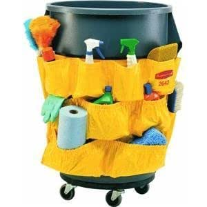 Rubbermaid FG264200YEL BRUTE® Caddy Bag for 2632, 2643 Containers Garden, Haus, Garten, Rasen, Wartung