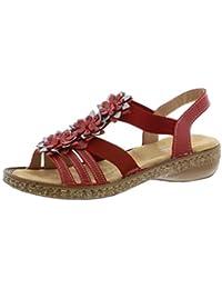 timeless design 7a082 ce5ce Amazon.it: Rieker - Sandali / Scarpe da donna: Scarpe e borse