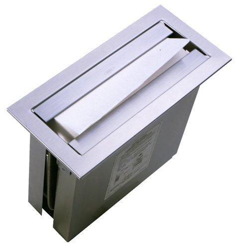 Bobrick B-526 Papierhandtuchspender für verdeckte Montage in Waschtischblende