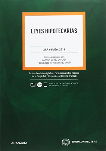Leyes hipotecarias 21ºed 2016 por From Aranzadi
