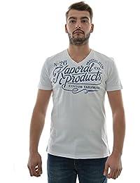 Kaporal Tazz - T-shirt - Imprimé - Col V - Manches courtes - Homme