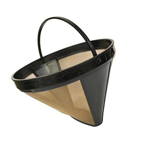 Fenteer Kaffeefilter/Kaffeesieb aus Stoff | Permanentfilter Ohne Papier als Handfilter für...