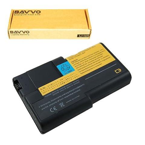 Bavvo Batería de Recambio para IBM ThinkPad A22e-2655 Series