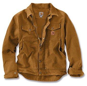 Carhartt 101230 Berwick Jacket - Arbeitsjacke M Carhartt Brown