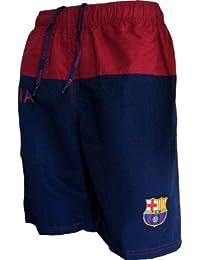 Short de Bain Plage BARCA - Collection officielle FC BARCELONE - Barcelona - Football club - Taille enfant garçon
