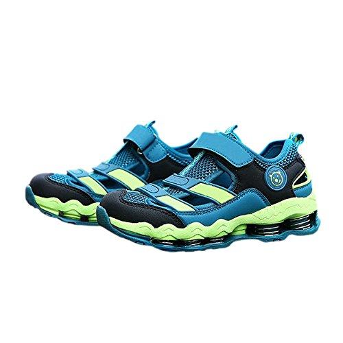 Haodasi Fashion Kinder Kids Jungen Outdoor Frühling Hiking Schuhe Sport Laufen Turnschuhe Light Blue