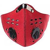Lepakshi Red Motor Bike Sport Mouth-Muffle Dustproof Dust Filter Anti-Pollutio
