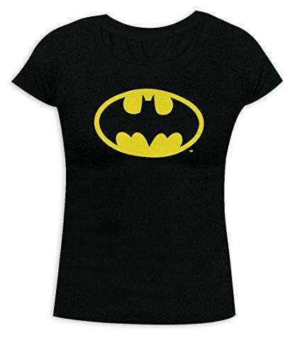 (Batman Girlie Shirt mit Logo (S))