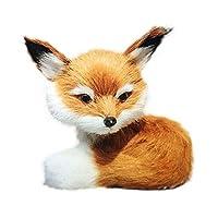 Uyuke Cute Simulation Fox Plush Toys Mini Stuffed Animal Plush Little Fox