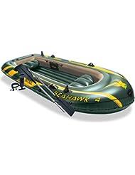 Intex Set bateau gonflable avec rames + pompe Seahawk 4 Intex 68351NP