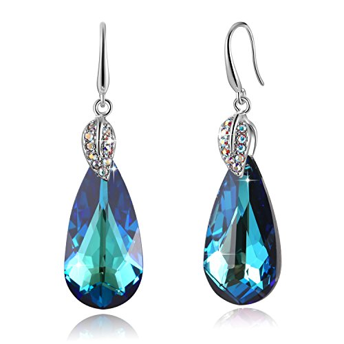 sues-secret-unstopptable-love-2-tones-colour-changing-tear-drop-womens-earrings-jewellery-made-with-