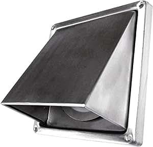 Grille à auvent - Inox - Diamètre 100 mm - DMO