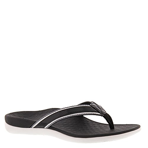 VIONIC Orthaheel Technology Women's Tide Sport Sandal (8 B(M) US, Black) (Womens Orthaheel Schuhe)