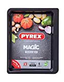 Pyrex - Magic - Plat à Four Rectangulaire en Métal 4.60 L / 35x26 cm