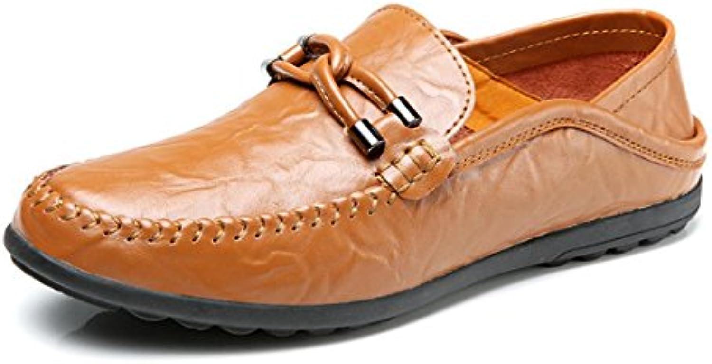 Herren Mode Freizeit Lederschuhe Flache Schuhe Lässige Schuhe Atmungsaktiv Rutschfest Flache Schuhe Zuhause Schlafzimmer