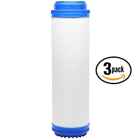 Replacement Everpure CGS-12 EV910012 Granular Activated Carbon Filter - Universal 10-inch Cartridge for EVERPURE CGS-12 DUAL SERIES 10 HOUSING - Denali Pure Brand by Denali Pure