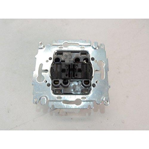 Double interrupteur va et vient 10A sans plaque ni manette INITIA ARNOULD 69002