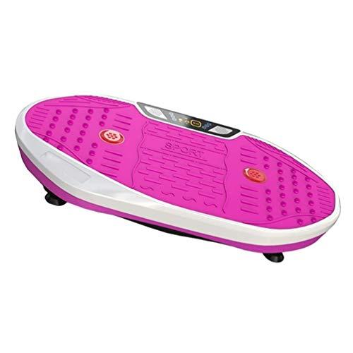 QNJM Vibrationsplatte Vibrationsplattform, Massagegerät Übung Fettverbrennung Fitness Body Shaper Gewichtsverlust for Fitness-Massage, £ 330 Belastbarkeit (Color : C)