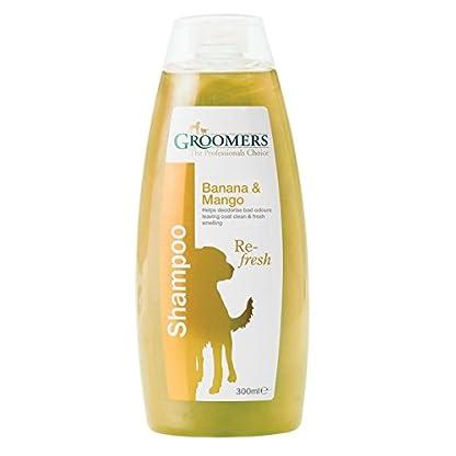 Groomers Banana and Mango Shampoo, 300 ml 1