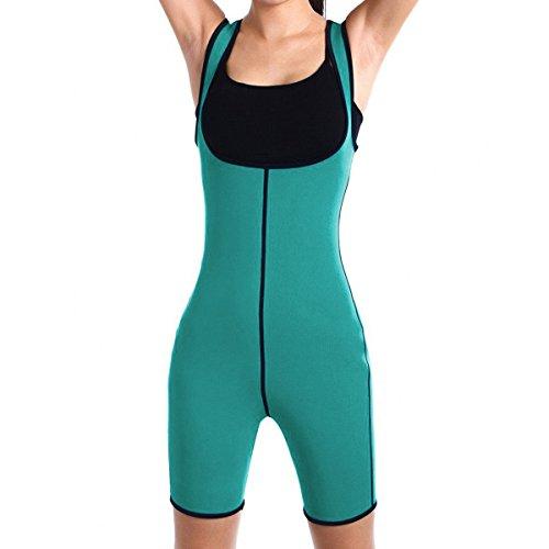 8db91b190 Shymay Body de cuerpo entero Shaper mejora el sudor Thermo neopreno  deportivo para mujer - 2016082200223
