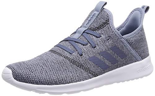 size 40 4752b f7353 adidas Women s s Cloudfoam Pure Running Shoes, Raw Grey S18 Tech Ink Core  Black