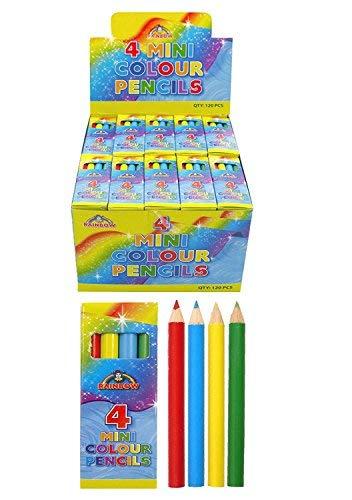 20 x 4 unidades lápices reciclados miniatura accesorios...