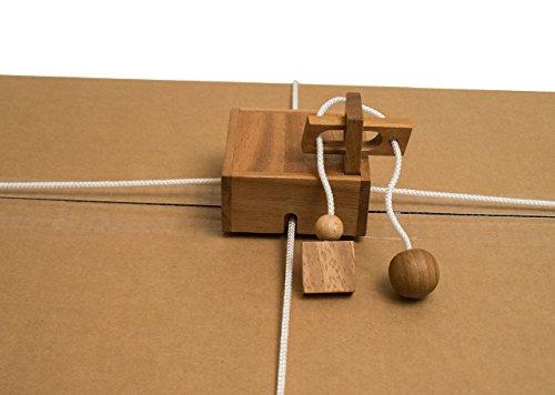 Geschenkesafe-eine-tolle-Verpackung-fr-groe-und-kleine-Geschenke-Trickspiel-aus-Holz-Holzspiel-Denkspiel-Knobelspiel-Geduldspiel-aus-Holz-berarbeitete-Version