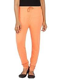 EAGLE Women Orange Color Leggings