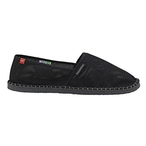 Chaussures espadrilles Havaianas noire Noir