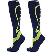 Chaussettes de compression de sport CYCLISME (PAIRE) Unisexe - Chaussettes de compression 100% graduelle pour améliorer la performance et l'endurance sportives - 20 à 30 mmHg