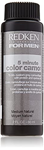 Redken - 5 Minute Camo Hair Color For Men, Medium Natural 2 Ounce by Redken